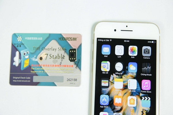 Sim ghép iPhone 8 giá rẻ