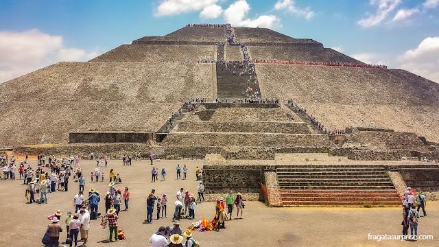 Pirâmide do Sol, Teotihuacán, México