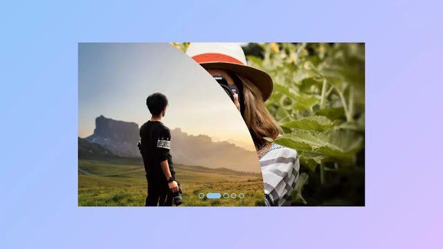 Image Clip Animation with Sliders using only HTML & CSS