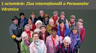 1 octombrie: Ziua Internațională a Persoanelor Vârstnice