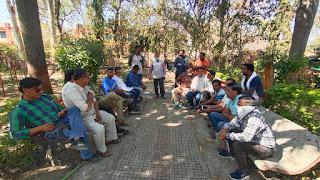 नगर के पत्रकारों ने बीएमओ के खिलाफ निंदा प्रस्ताव पारित