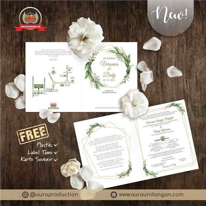 Jasa Percetakan Undangan Pernikahan Aceh