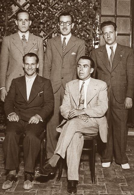 Cinco catalanes en la Semifinal del Campeonato de España 1935