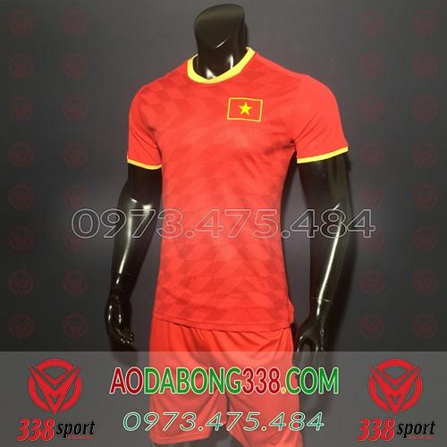 Áo Đội Tuyển Việt Nam Đỏ 2019 2020 Sân Nhà