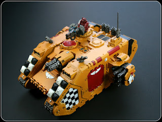 Lamenters Land Raider Crusader