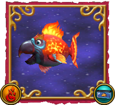 Wizard101 Fishing Dragonspyre Fish Ember Parrot
