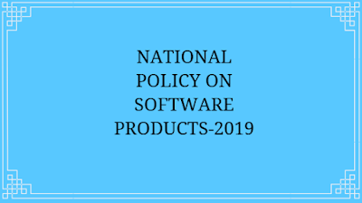 National Policy On Software Products-2019