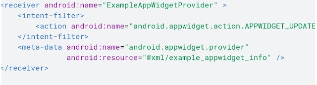 How to add widgets in android studio