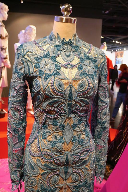 Awkwafina Oceans 8 Met Gala gown detail