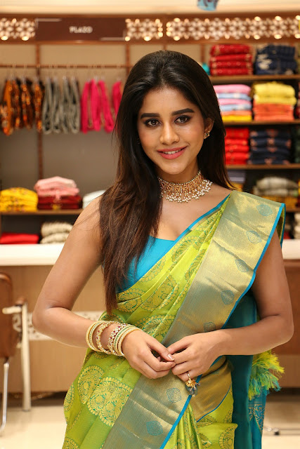 Nabha Natesh At Srika Shopping Mall Launch Awesome Images, nabha natesh hot
