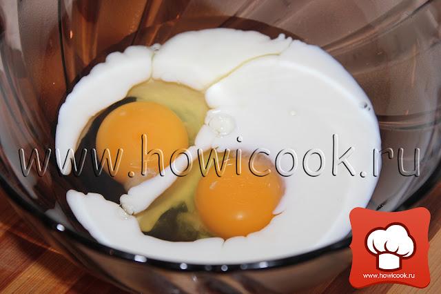 Омлет с грибами и помидорами пошаговые фото рецепт
