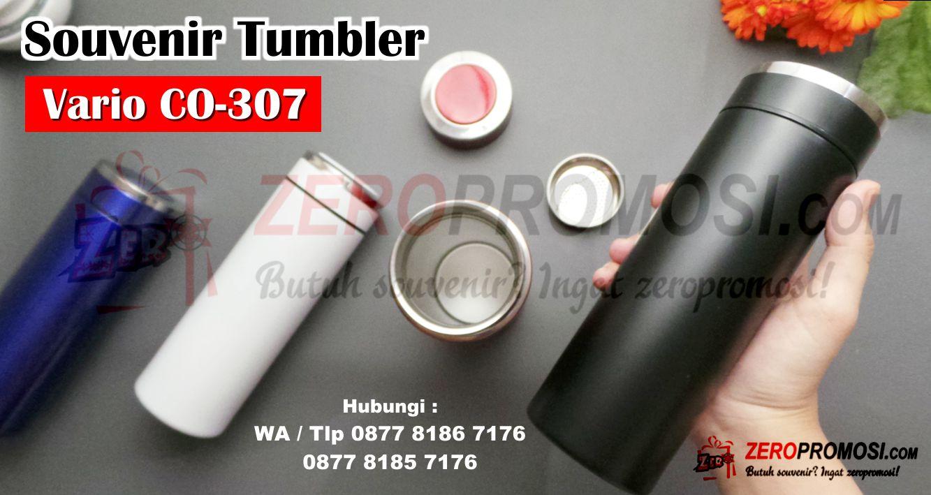 Souvenir Tumbler Custom CO-307 Vario, Tumbler Stainless Vario CO-307 Tumbler Murah Custom Cosmo, Tumbler Termos Stainless Vario CO307 320ML