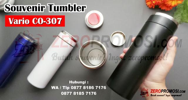 Souvenir Tumbler CO-307 Vario, Tumbler Stainless Vario CO-307, Tumbler Murah Custom Cosmo, Tumbler Termos Stainless Vario CO307 320ML, Tumbler Vario 320ML CO307, souvenir tumbler, tumbler promosi