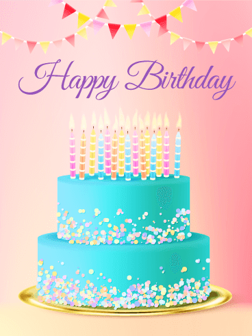 Fabulous Happy Birthday Cake Personalised Birthday Cards Paralily Jamesorg