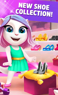My Talking Angela v5.0.1.916 Mod APK Unlimited Coins Diamonds Download Now