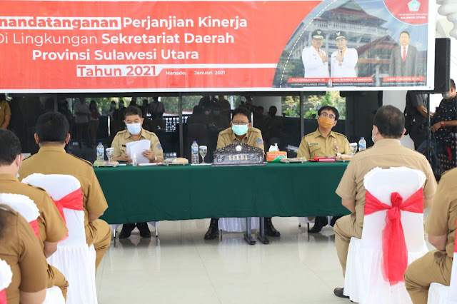Edwin Silangen Pimpin Raker dan PK 2021 di Setdaprov Sulawesi Utara.lelemuku.com.jpg