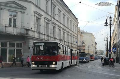 Ikarus 280, MPK Kraków