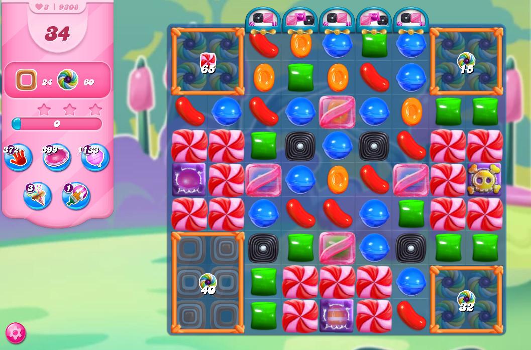 Candy Crush Saga level 9308