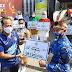 Kontingen Mabesau Raih Juara I Lomba Senam SAH 2020