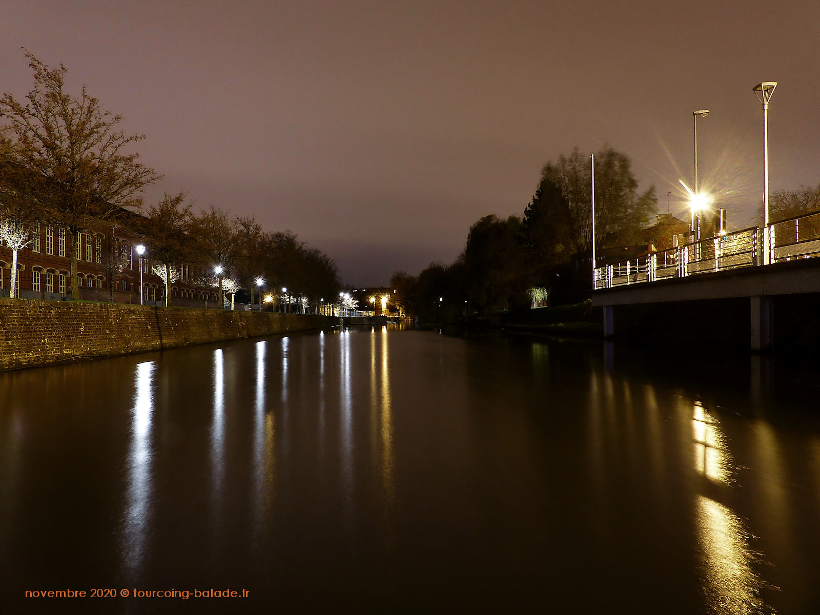 Tourcoing Nuit 2020 - Canal