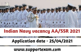 Indian Navy AA/SSR Online from 2021