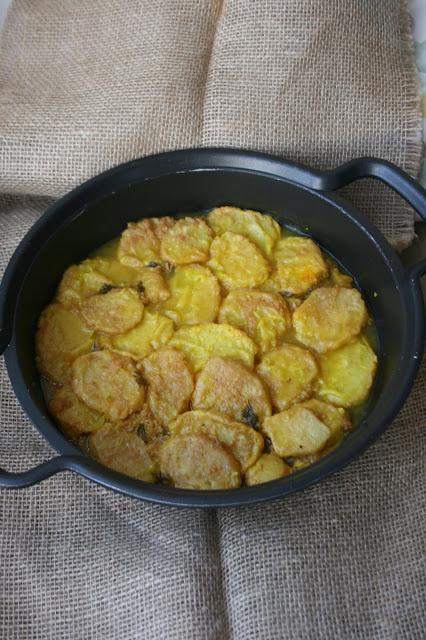 Patatas a la importancia  El Ágora de Ángeles