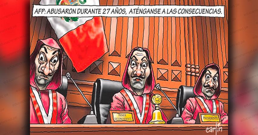 Carlincaturas Domingo 5 Abril 2020 - La República