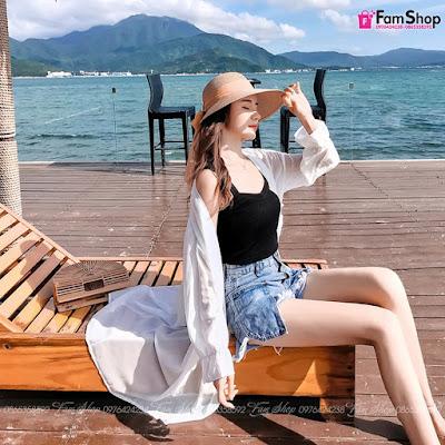 Shop bán áo lưới đi biển tại Hà Nội