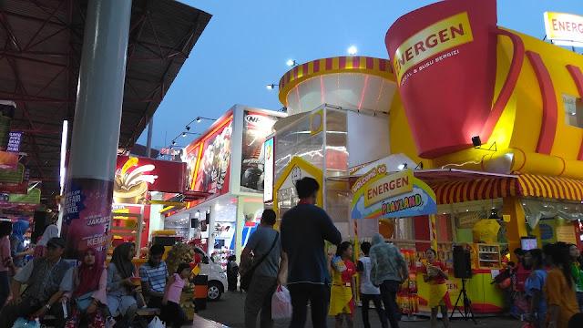 Jakarta Fair Kemayoran Banjir diskon