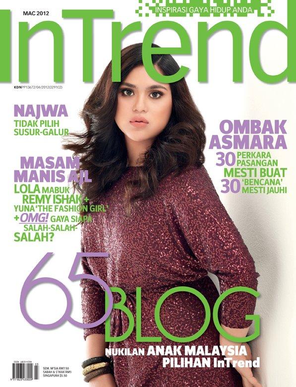 Senarai 65 Blog Nukilan Anak Malaysia Pilihan InTrend Edisi Mac 2012