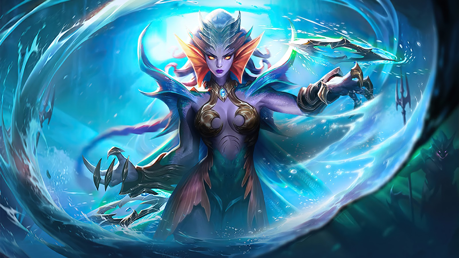 Wallpaper Karrie Gill Girl Skin Mobile Legends HD for PC
