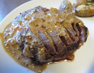 resep steak daging saus mustard