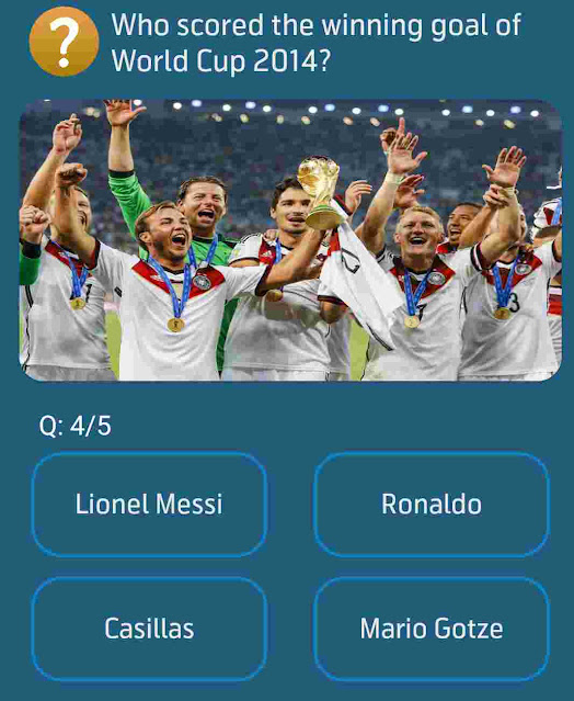 Who scored the winning goal of World Cup 2014?