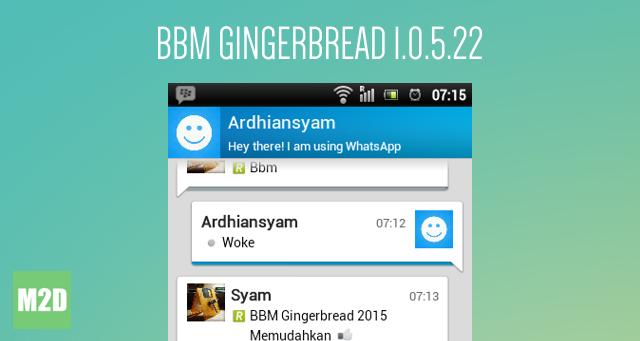 BBM untuk Gingerbread 1.0.5.22