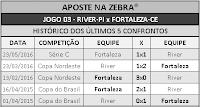LOTECA 711 - HISTÓRICO JOGO 03