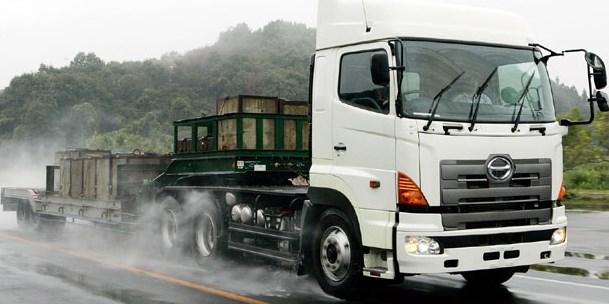 modifikasi mobil truk hino simpel