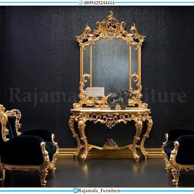Desain Meja Konsul Mewah Classik Luxury Jepara High Quality RM-0412