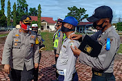 Kapolres Aceh Singkil Pimpin Apel Gelar Pasukan Operasi Patuh Seulawah