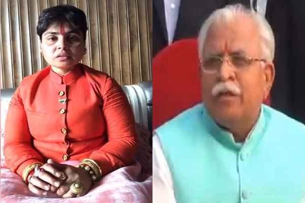 sadhvi-deva-thakur-reaction-on-4-rape-cases-in-haryana-jind-news