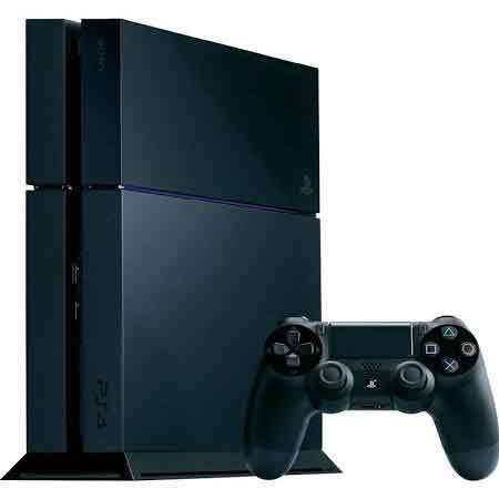 Sony PlayStation 4 - 500 GB - Jet Black