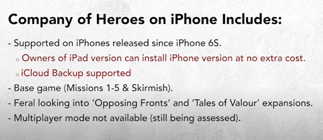 Company of Heroes for iPhone Review