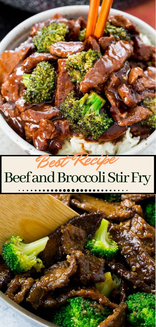 Beef and Broccoli Stir Fry #dinnerrecipe #food #amazingrecipe #easyrecipe