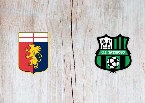 Genoa vs Sassuolo -Highlights 09 May 2021