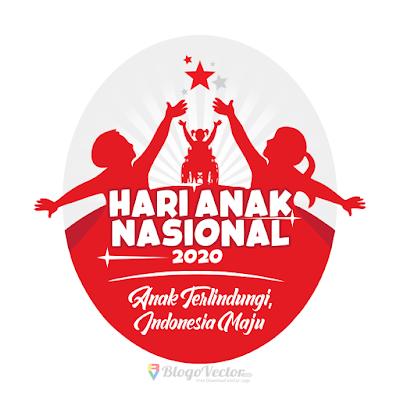 HARI ANAK NASIONAL (HAN) 2020 Logo Vector