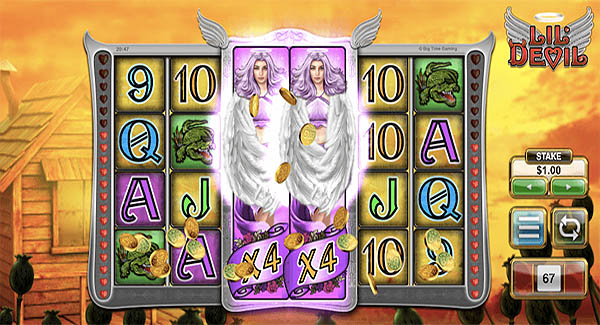 Main Gratis Slot Indonesia - Lil' Devil (Big Time Gaming)