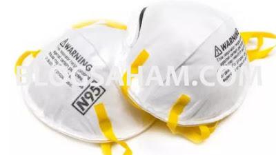 masker n95 untuk virus corona, berkah bagi kimia farma