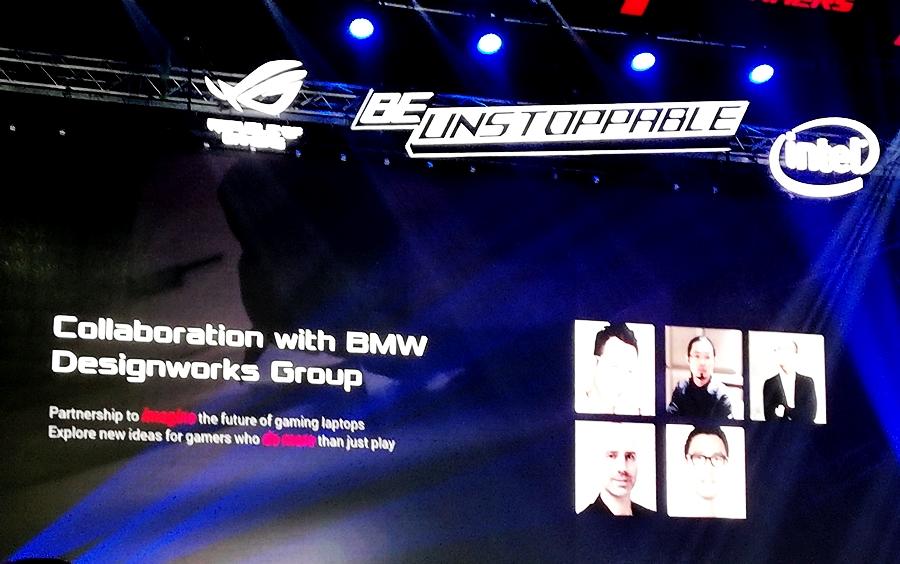 Kolaborasi ASUS dengan BMW Designworks Group