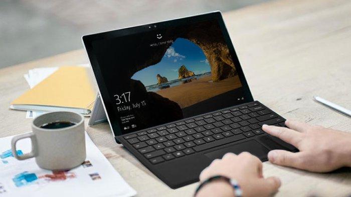 Windows Hello unlock features in the Windows laptop.