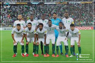 تأهل تاريخى لمنتخب الاخضر السعودى لمونديال روسيا 2018 saudi-arabia-vs-japan