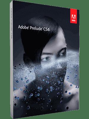 Adobe Prelude CS6 box